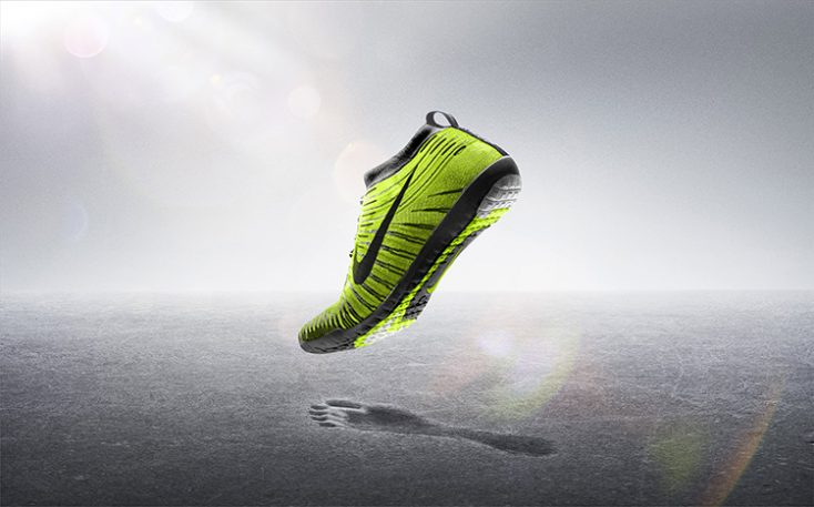 With Its New Flyknit, Nike Chases Barefoot Runners