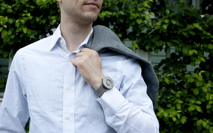 Kickstarting: A Watch That Lets You Tell Time By Feel