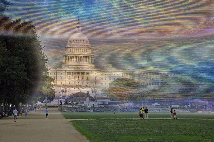 If We Could See Wi-Fi, Washington, D.C., Would Look Like This