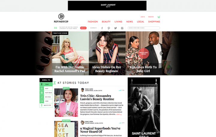 Refinery29 Rebrands For A Global Fashion Audience