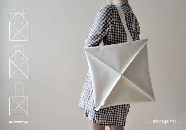 A Clever, Shape-Shifting Bag Inspired By Origami