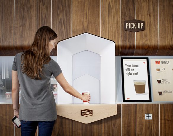 This New Coffee Shop Is Staffed By Robots