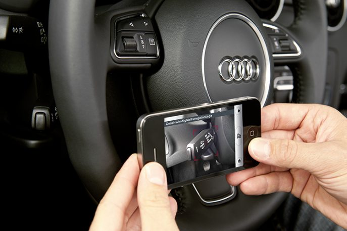 Audi's App Turns Your iPhone Into An Interactive User's Manual