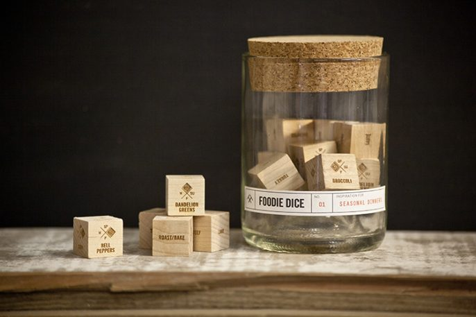 Kickstarting: Dice That'll Shake You Out Of Cooking Fatigue