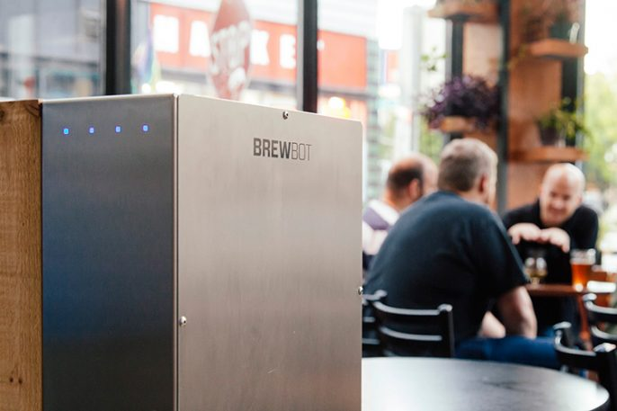 An iPhone-Controlled Robot To Brew Your Beer