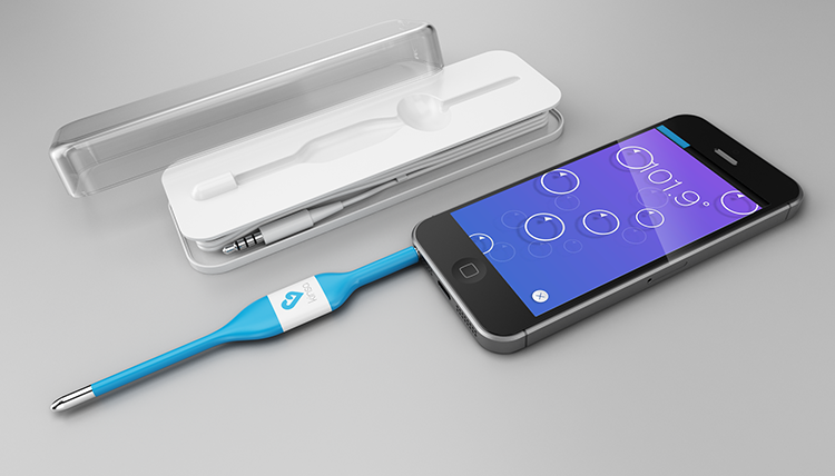 This Tech-Enabled Thermometer Tracks More Than Just A Fever