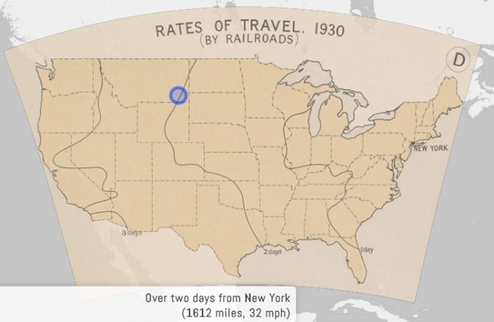 This Interactive Map Shows How Far You Could Travel In 24 Hours