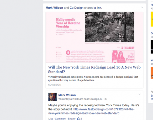 Facebook Is Testing A News Feed That Looks More Like A Newspaper