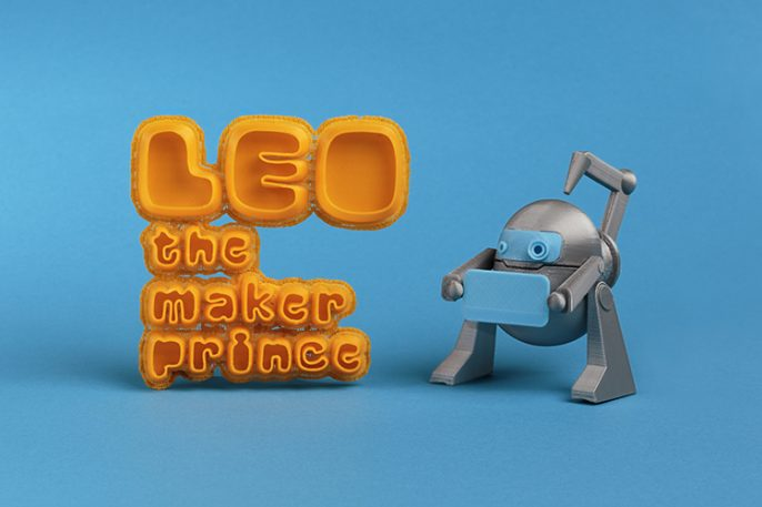 """A Children's Book That Is """"The Little Prince"""" Of 3-D Printing"""