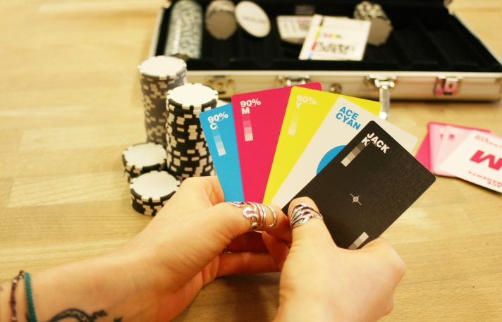 CMYK Cards Let You Play Texas Hold 'Em With Color