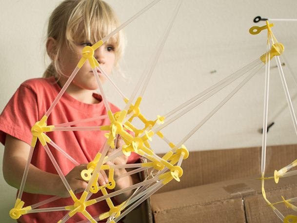 A Toy Kit For Little Architects And Engineers