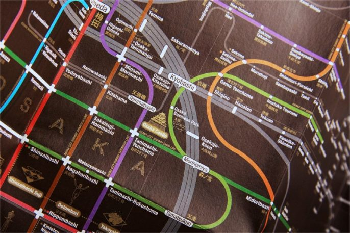Subway Maps Designed To Reflect A City's Soul
