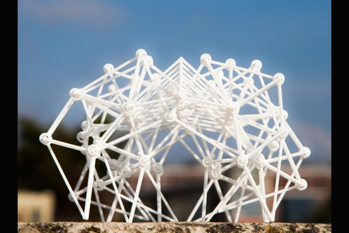 """Tiny, 3-D Printed """"Strandbeests"""" Are Like Pets You Never Have To Feed"""