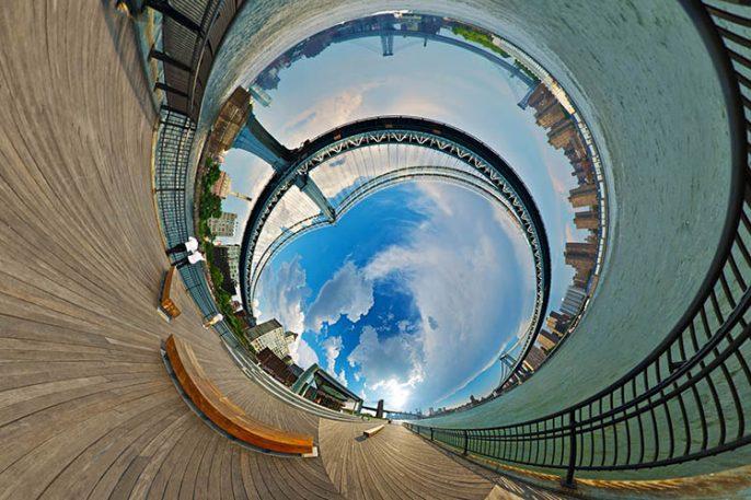 Beautiful Panoramas Turn Your World Into Wormholes