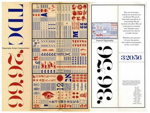 100 Years Of Type In Design, Curated By Monotype