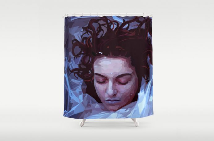 Shower David Lynch-Style With Twin Peaks Curtains