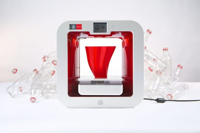 Turn Old Bottles Into iPhone Cases With This 3-D Printer From Will.i.am And Coca-Cola