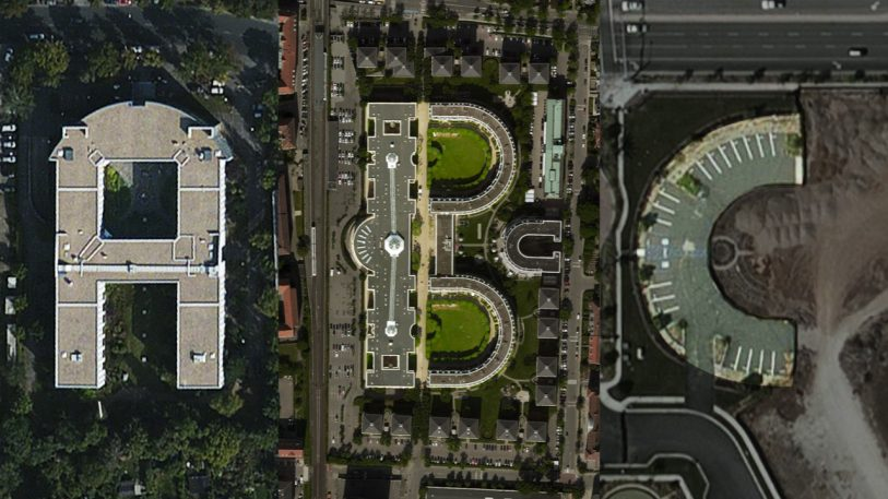 The Cool Accidental Typography Of Satellite Imagery