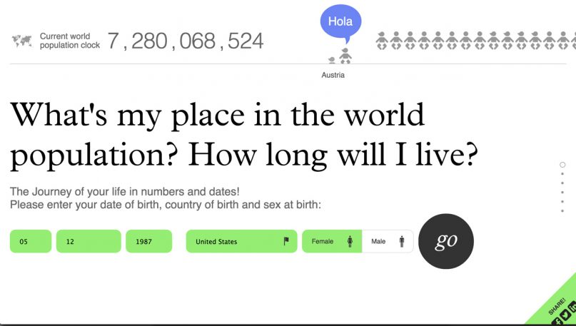 This Site Visualizes Your Death
