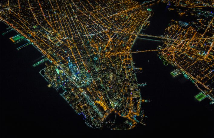 The Alien Essence Of New York City, Captured From Above