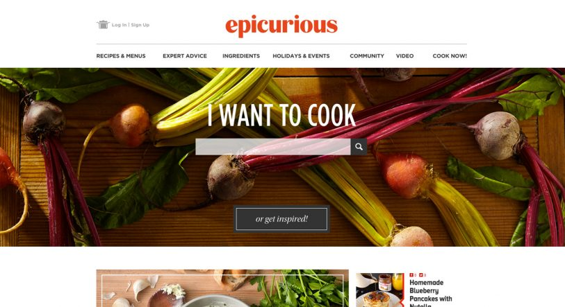 The New Epicurious Infuses Recipes With Google And Tinder