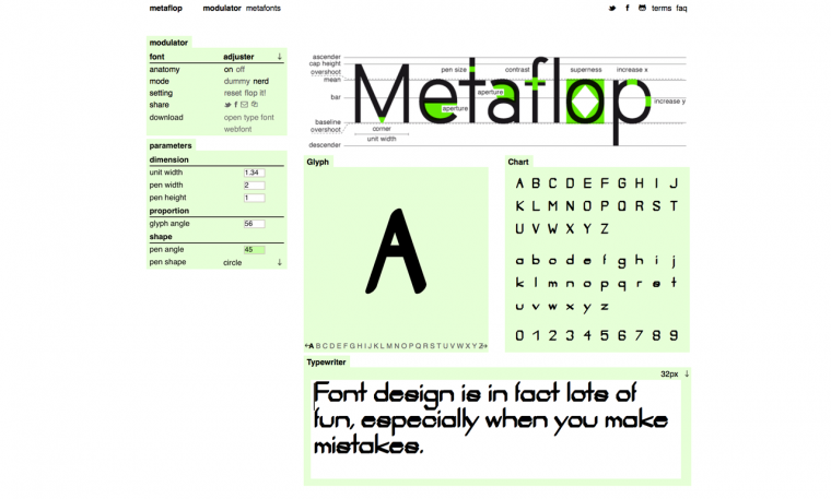 A Simple Web App That Makes Designing Your Own Font A Cinch