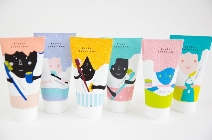 Adorable Toothpaste Packaging Magically Morphs In Water