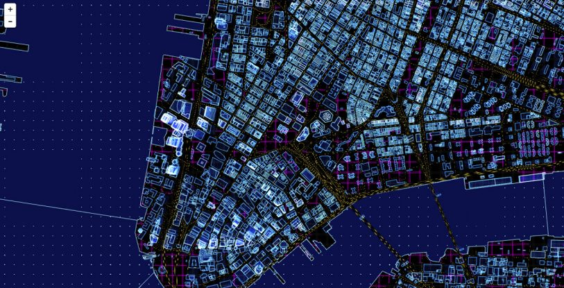 Sci-Fi Maps Show What Your City Would Look Like In Tron