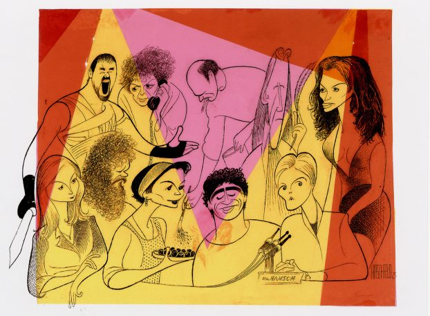 90 Years Of Hollywood Stars, Caricatured By Al Hirschfeld
