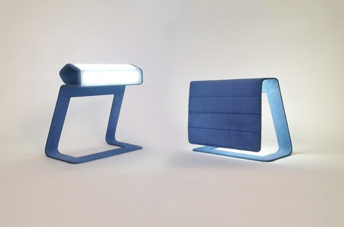 These Clever Lamps Roll Up Like A Window Shade