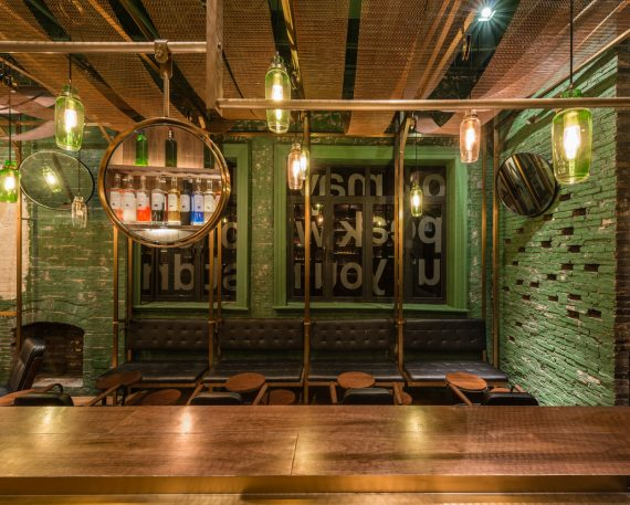 This Punch Bar Channels Shanghai's Old-School Alleyways