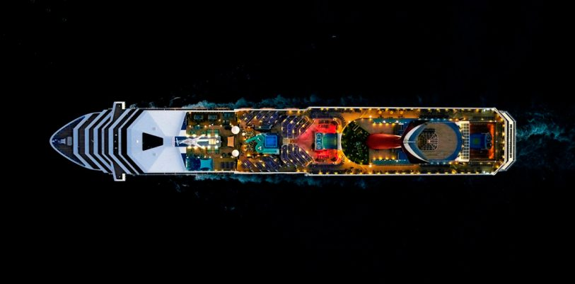 Incredible Aerial Photos Of Cruise Ships Look Like Alien Space Yachts