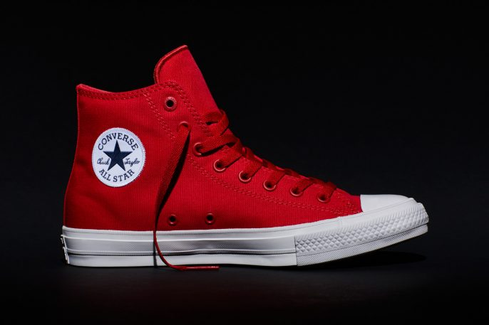 Meet The Chuck II, The First New Converse All Star Design In 100 Years