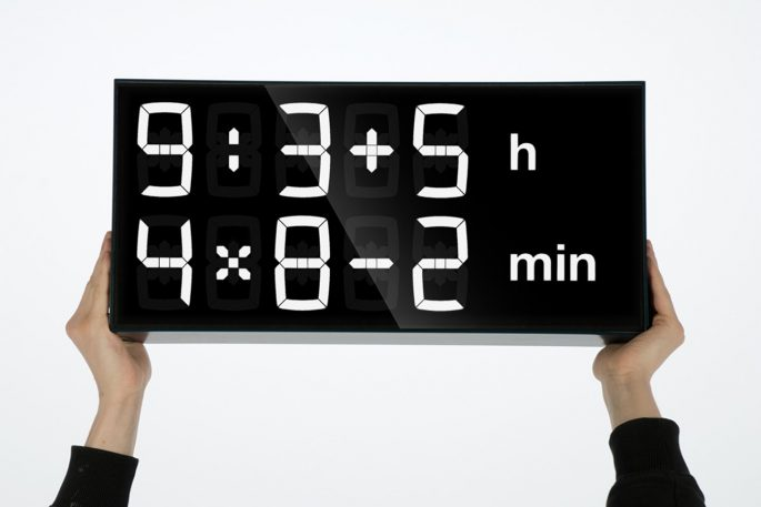 This Clock Doesn't Just Tell You The Time, It Makes You Work For It