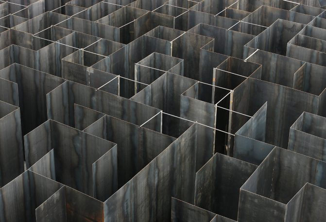 An Immersive Geometric Maze Built On The Site Of A Coal Mine