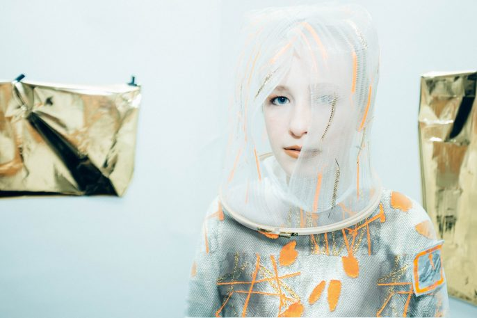 A Martian Space Suit That Sheds Away Layers As Humanity Evolves