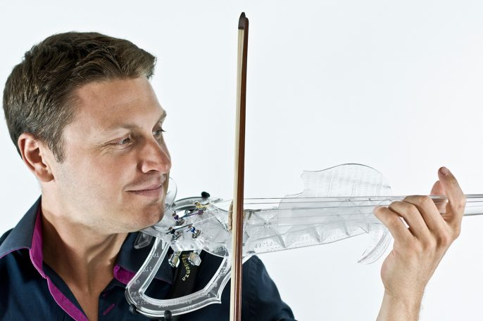The World's First 3-D Printed Violin Sounds Pretty Groovy