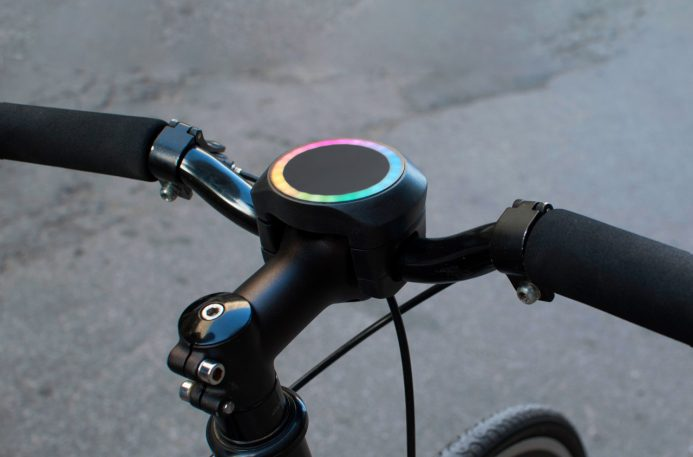 This Smart Bike Navigation Gadget Relies On A Slick Ambient UI
