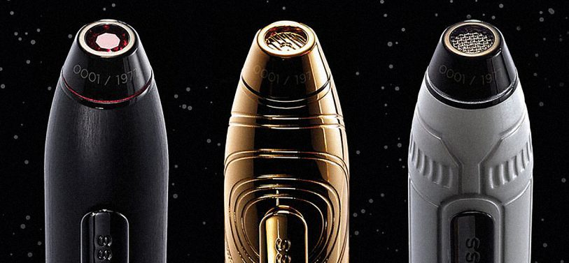 """High-End Design Meets Pop Culture With Cross's Incredibly Swank """"Star Wars"""" Pens"""