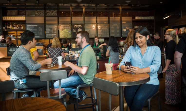 Starbucks Kills Its Line With An App