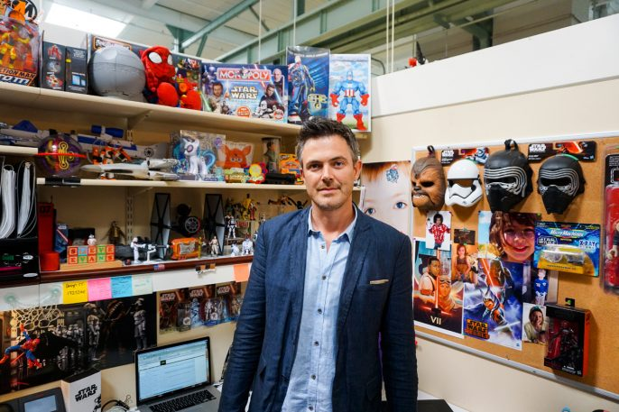 Meet The Most Powerful Force In The Star Wars Universe: The Man Who Makes The Toys