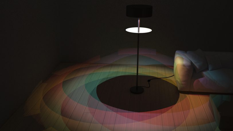 Better Than The Supermoon, This Lamp Makes An Eclipse From A Rainbow