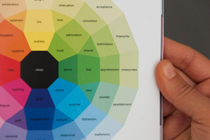 This Designer Turned A Year's Worth Of Emotions Into Colorful Spectrums
