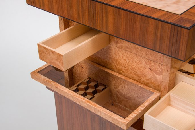 This Astonishing Puzzle Table Has More Secrets Than Surfaces