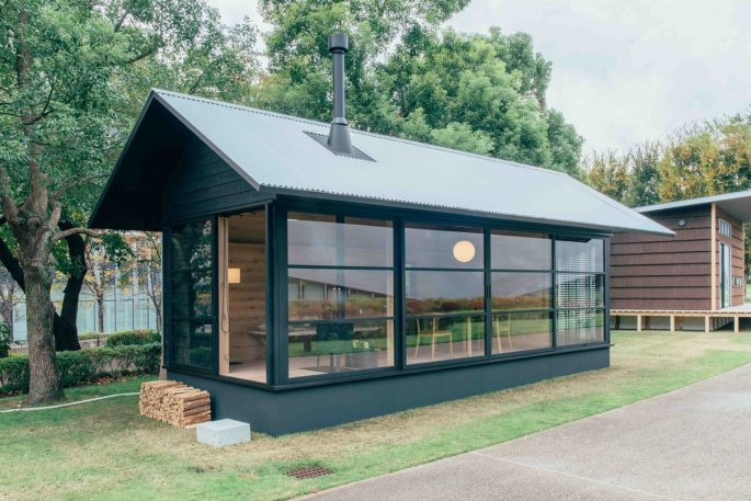 Muji Unveils A Trio Of Tiny Prefab Houses (Cue Envy)