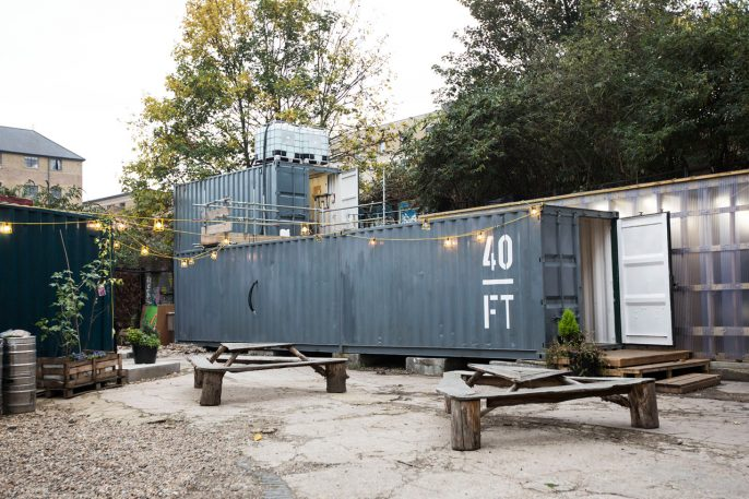 A Budget Brewery Built From Shipping Containers