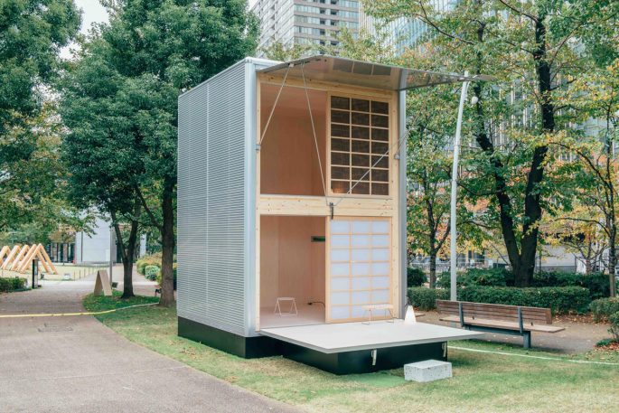 A Behind-The-Scenes Glimpse At How Muji Makes A Tiny Shelter