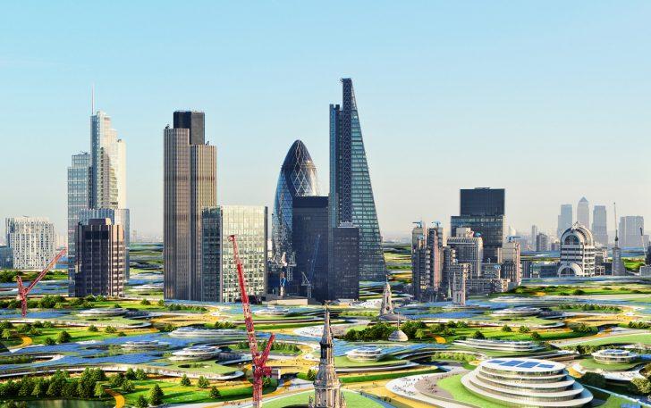 An Office The Size Of A City: Googleplex Designer's Latest Zany Idea