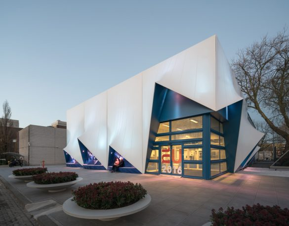 The Future Of The EU Is Being Decided Inside This 3-D Printed Building