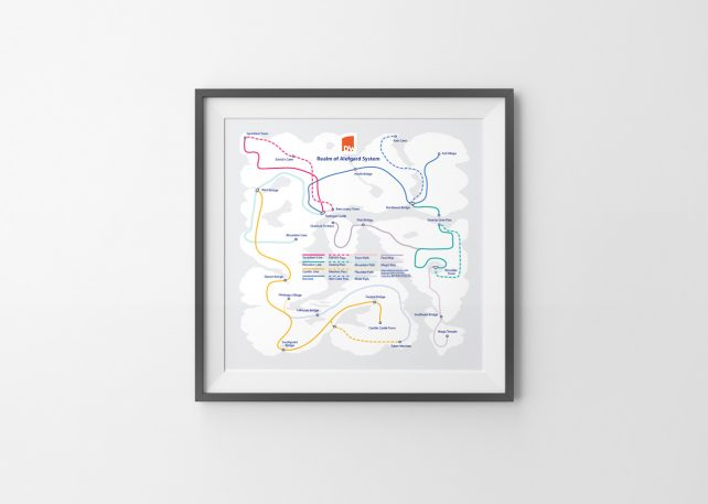 6 Classic Nintendo Gameworlds, Redrawn As Subway Maps